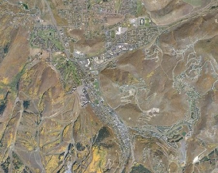 Aerial View of Park City
