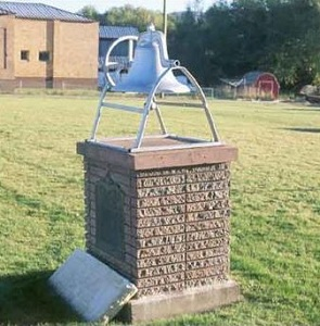 Bell and Historical Marker for the Peoa Church