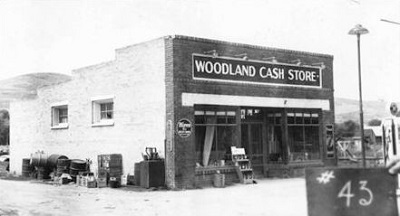 Front View of Woodland Cash Store