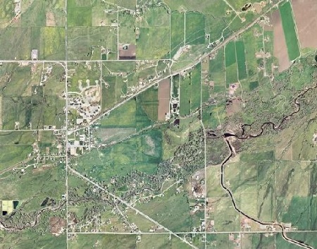 Aerial View of Oakley City